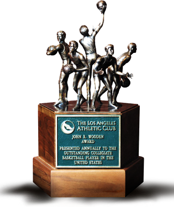 The Los Angeles Athletes Club trophy