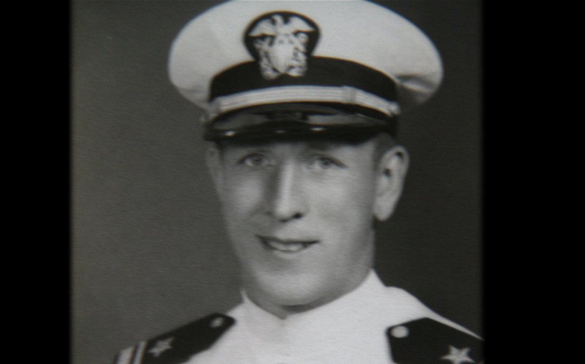 JW in navy uniform